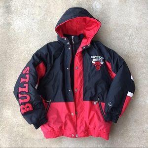 Team Athletics Chicago Bulls Youth Coat